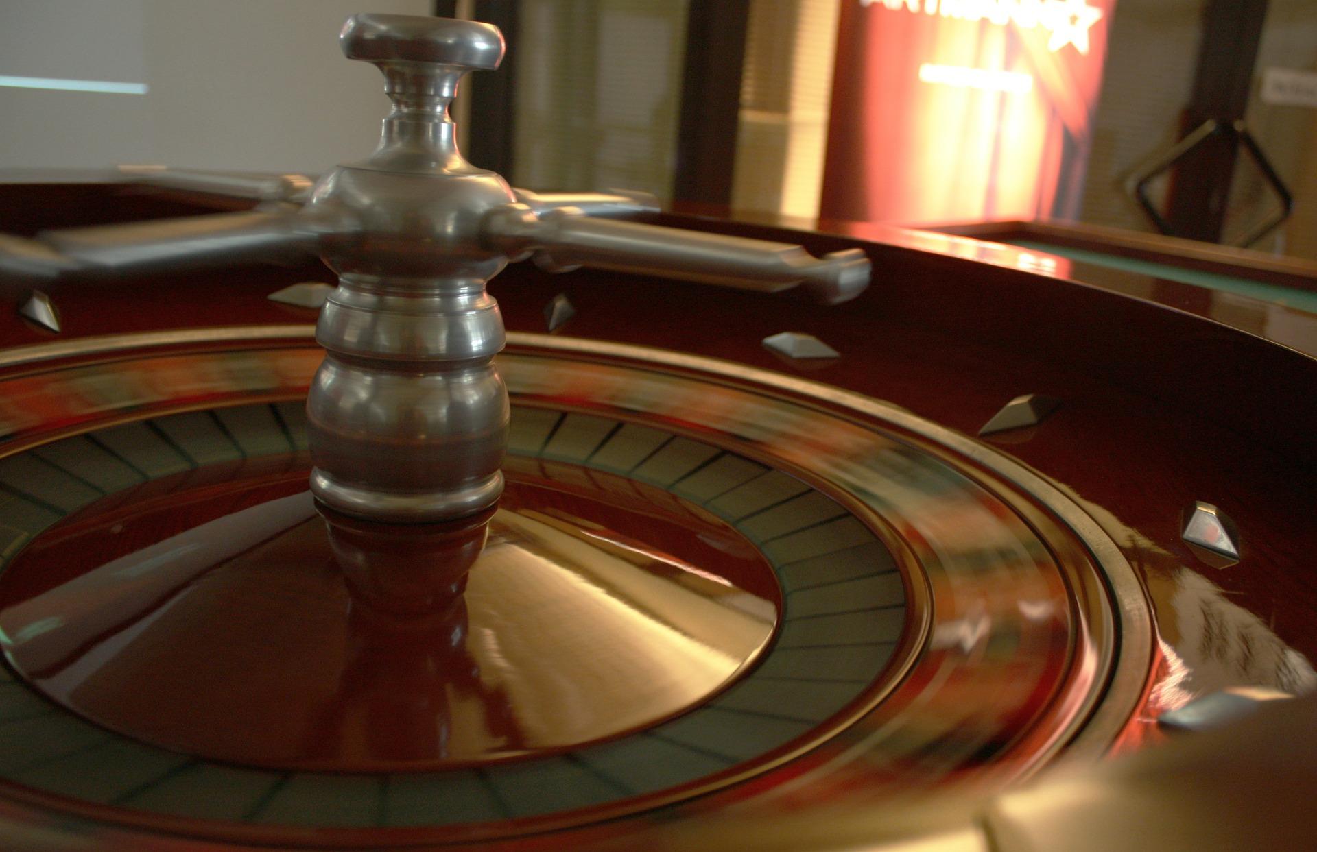 Wnętrze kasyna